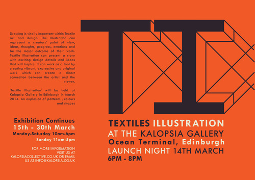 Kalopsia Gallery Textile Illustration Exhibition
