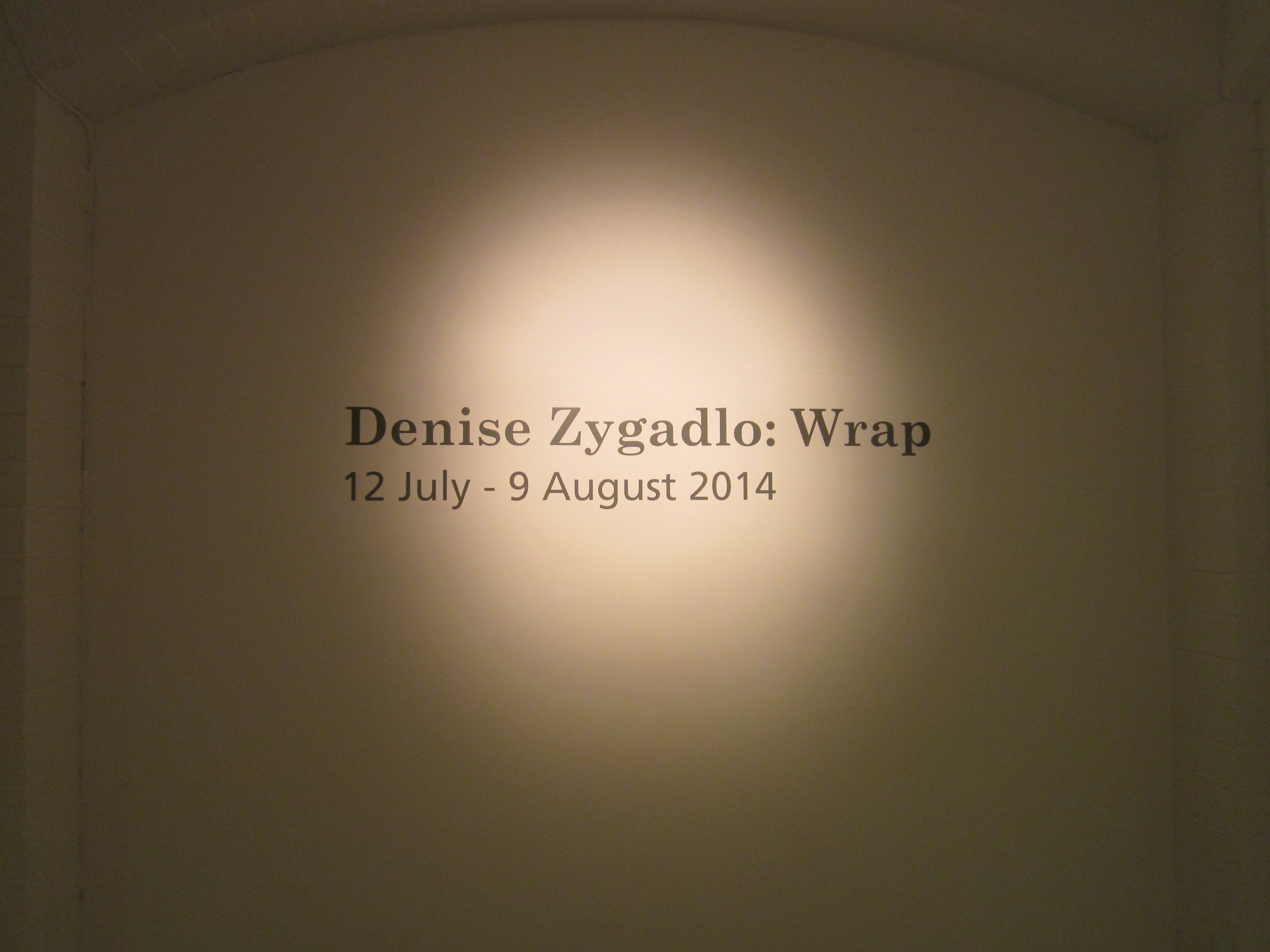WRAP - a saunter through Gallery 2 video